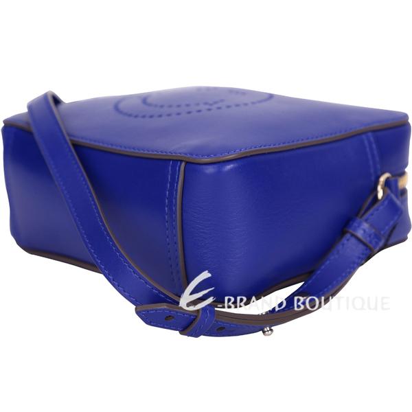 ANYA HINDMARCH Wink 眨眼流蘇斜背包(藍色) 1620968-23