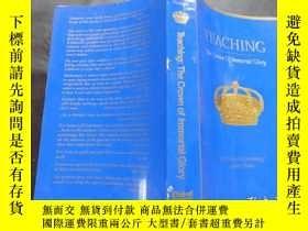 二手書博民逛書店Teaching:罕見the Crown of Immortal