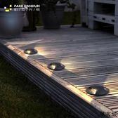 地燈戶外現代簡約燈埋燈預埋燈防水景觀庭院花園草坪室內外墻燈 萬客城