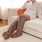 【Alphax】日本進口 腳部保暖健康套 一入 保暖腳 保暖褲 刷毛保暖褲