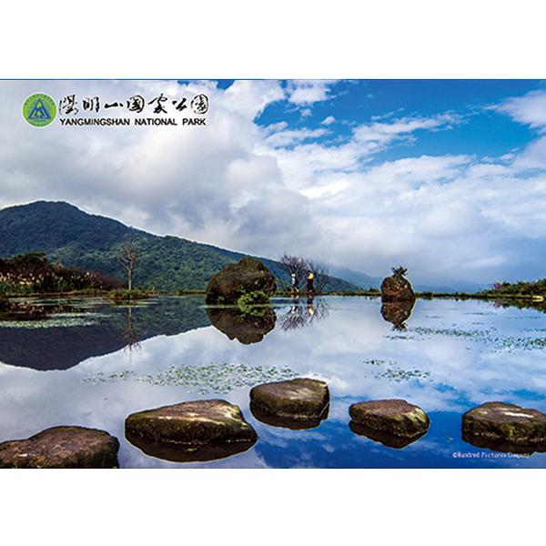 【台製拼圖】風景系列 陽明山國家公園 水中央 (108片) HPY0108-004