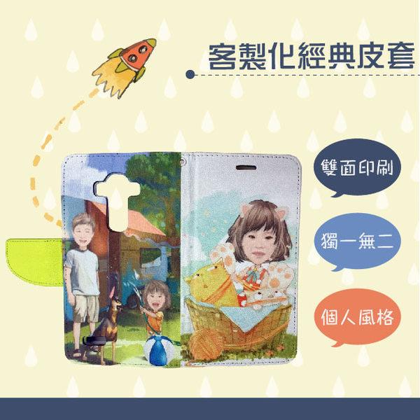 自用 禮物 客製化皮套 華碩ASUS ZenFone Selfie ZD551KL / ZC550KL 圖片 照片製作 彩繪 手機殼支架 雙面印製