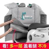 電動摩托車擋風被秋冬季加絨加厚電車電瓶防水防雨雙面防風防寒罩