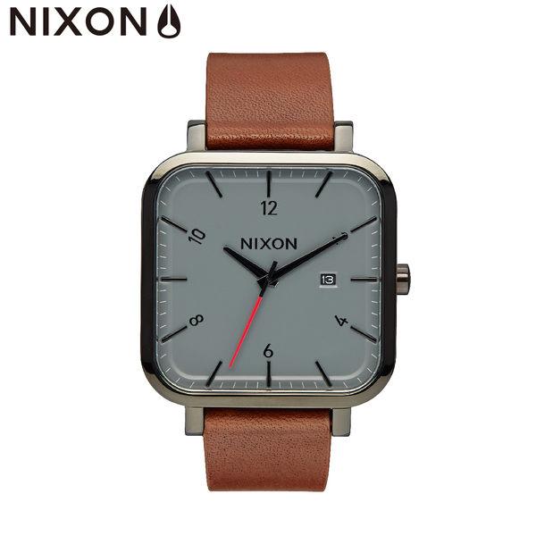 NIXON手錶 原廠總代理A939-017 RAGNAR 咖啡色潮流時尚皮錶帶 男女 運動 生日情人節禮物