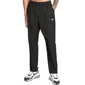 Nike NSW CE Wvn Pant Players 男 黑 運動 休閒 長褲 CZ9928-010