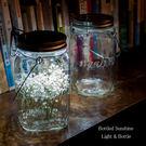 檯燈 桌燈 太陽能光瓶 夜燈 露營燈 工業風吊燈 節能燈 收納罐 儲物瓶