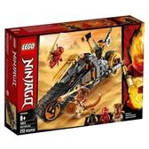 樂高積木 LEGO《 LT70672 》 NINJAGO 旋風忍者系列 - 阿剛的越野摩托車╭★ JOYBUS玩具百貨