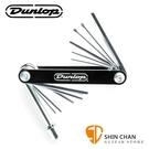 【缺貨】Dunlop DGT02 多用途工具扳手( Philips 1號螺絲起子附件、2.5mm平頭附件、8mm套筒扳手附件 )