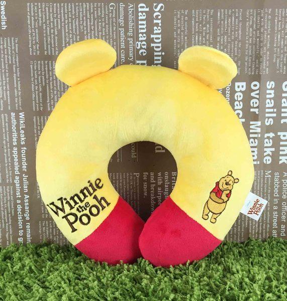 【震撼精品百貨】Winnie the Pooh 小熊維尼~造型頸枕