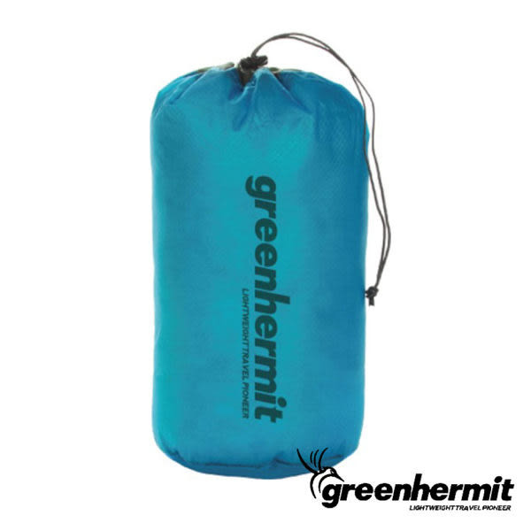 GREEN HERMIT UL-STUFF SACK 超輕防潑水束口袋 15L/L   OD3115
