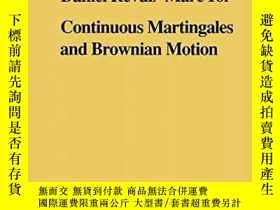 二手書博民逛書店Continuous罕見Martingales And Brownian Motion (grundlehren