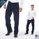 【最後一件大尺碼60】經文刺青 美式復古單寧 彈性牛仔男褲(中腰) 390(3247)