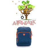 美國AIRWALK(KIDS) - 都市小遊俠 後開式多功能平板後背包-藍