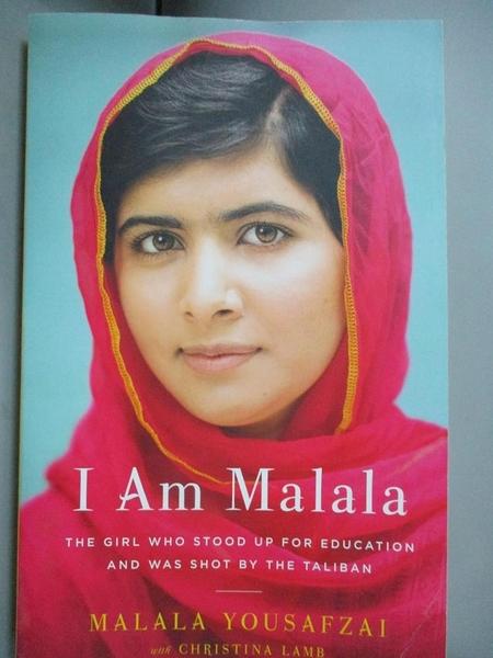 【書寶二手書T1/傳記_ZJA】I Am Malala: The Story of the Girl Who Stood Up…