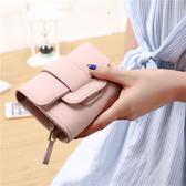 果郡主錢包 女長短款手拿包女士皮夾2017新款日韓簡約卡包零錢包