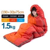1.5KG 信封睡袋戶外野營睡袋【SA004】可拼接睡袋 三季使用溫度適用0℃~10℃
