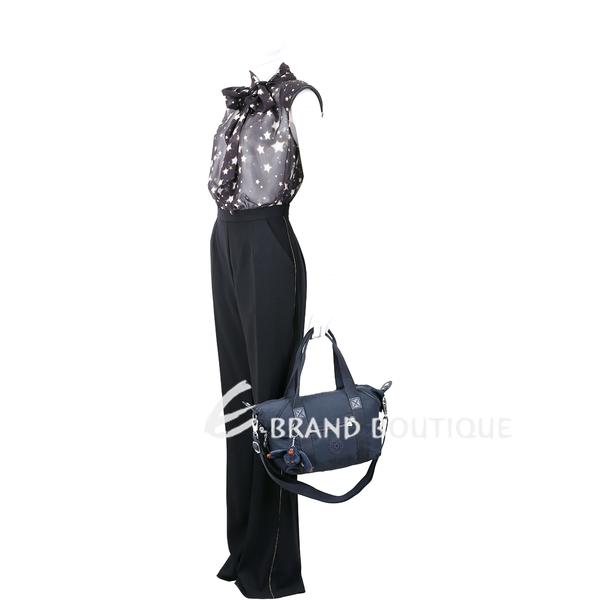 Kipling ART Mini K01327 輕巧尼龍手提側背包(深藍灰色) 1830205-34