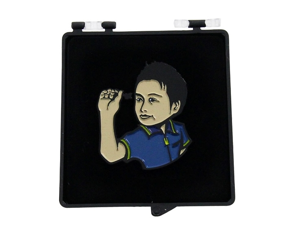 【SHADE】Player Pin badge 村松治樹選手 飛鏢配件 DARTS
