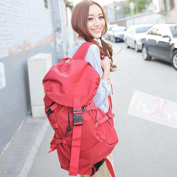 《澤米Jammy》日本新款個性雙肩包女背包男行李旅行包旅遊健身大容量韓版潮包(全館二件免運)