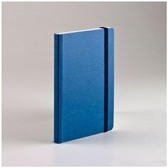 EcoQua taccuino 空白筆記本/A6(80張10.5cmx14.8cm)藍色【FABRIANO】