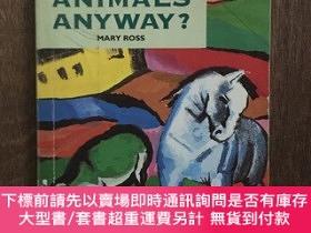 二手書博民逛書店Who罕見Needs Animals Anyway?Y12800 Mary Ross Mean Reads I