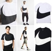 Nike大勾短T Big Swoosh 短袖T恤 黑AR5192-010 白AR5192-103 耐吉大LOGO/澤米