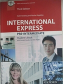 【書寶二手書T4/大學文學_EER】International Express Third Edition Pre Intermediate Student Book Pack