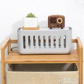 集線盒電源插座收納盒電線整理塑料盒易散熱拖線板收納盒   電購3C