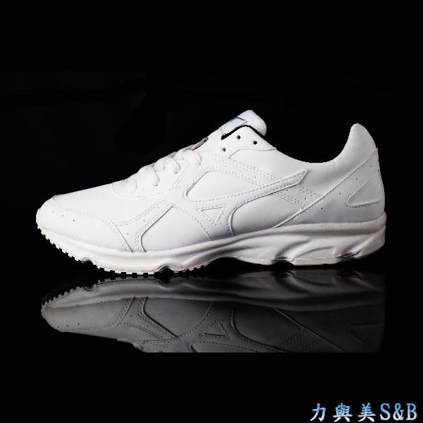 【輕量】MIZUNO TRAINING網球鞋 輕量 舒適好穿 全白色鞋面 學生鞋  【1256】