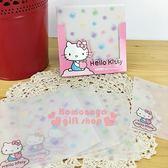 〔小禮堂〕Kitty 抽取式方型便條紙《透明.繽紛.蘋果.點點》30張.可立4714581-40515