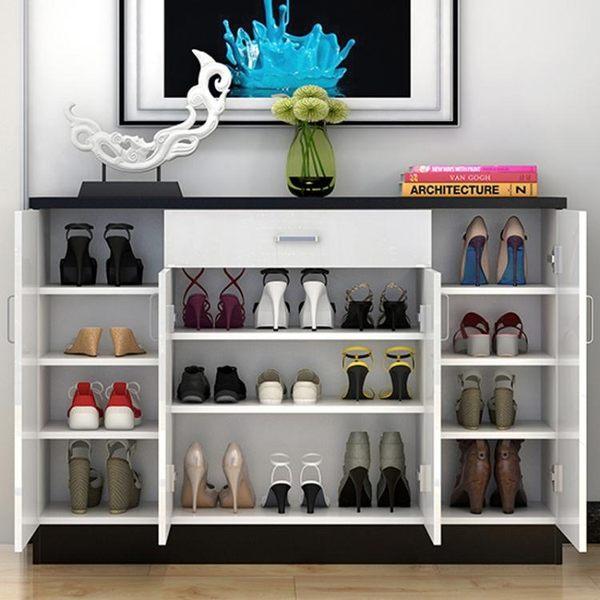 鞋櫃多功能簡易鞋櫃經濟型玄關櫃子簡約現代鞋櫃鞋架門廳櫃收納櫃 禮物限時八九折
