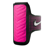 Nike DT Arm Band [NRN41082OS] 女 運動 慢跑 自行車 輕量 手機 臂包 4.7吋 黑 粉紅