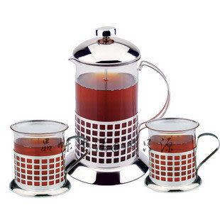 法式沖茶器三件套裝
