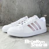 Adidas Advantage 白皮革 玫瑰金 女 (布魯克林) 2018/8月 DA9524