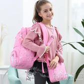 兒童書包小學生1-3-4-5-6年級日本一韓版校園護脊雙肩包女童女孩  聖誕節歡樂購