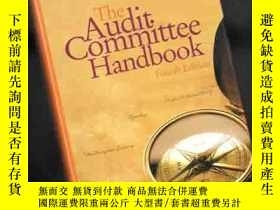 二手書博民逛書店THE罕見AUDIT COMMITTEE HANDBOOK【精裝