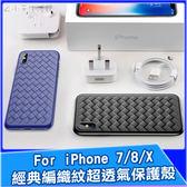 Baseus 倍思 BV編織紋保護殼 iPhone ixs ix i8 i7 Plus 手機殼 防摔殼 保護殼 手機套
