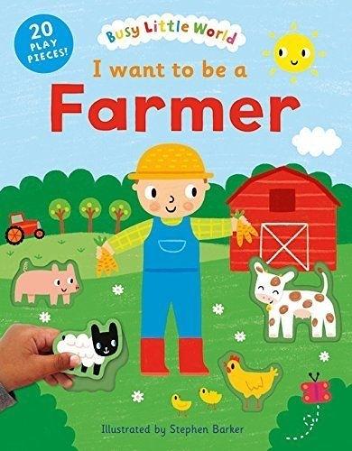 I Want To Be A Farmer 我想當農夫 硬頁活動書