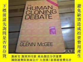 二手書博民逛書店THE罕見HUMAN CLONING DEBATE ,2nd E