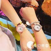 手錶-韓版新款原宿風時尚創意方形手表小清新學生百搭休閑氣質簡約腕表-奇幻樂園