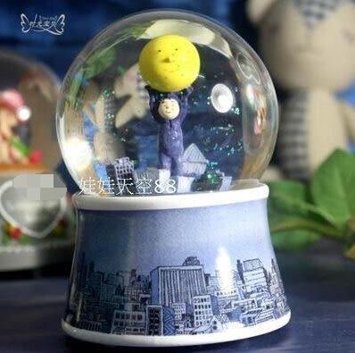 八音盒   自動噴雪花天空之城【藍星居家】