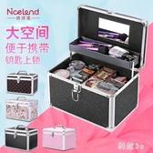 專業水乳護膚品化妝品收納包手提美甲半永久工具箱 js22060『科炫3C』