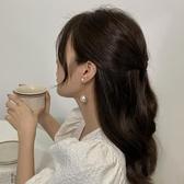 珍珠耳飾流蘇耳環大年新款潮長款耳釘女耳墜韓國氣質網紅吊墜