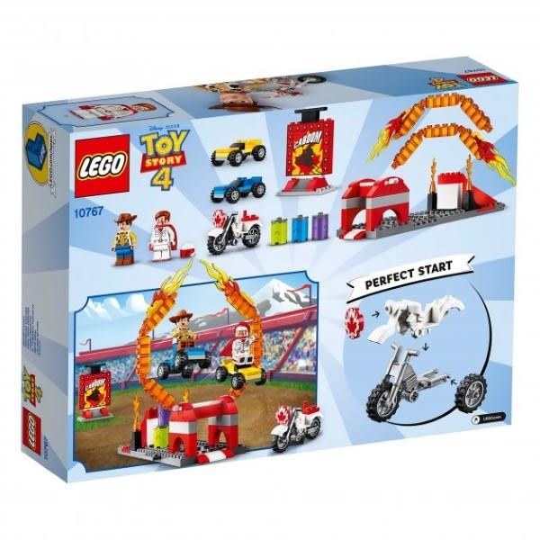 樂高LEGO JUNIORS 玩具總動員4 TOY STORY4 卡本公爵的特技表演 10767 TOYeGO 玩具e哥