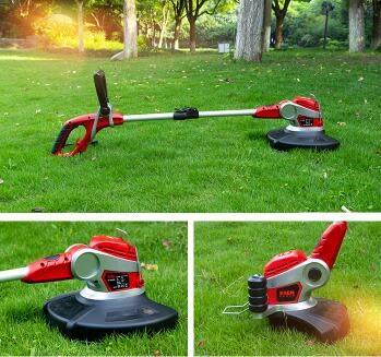 220v家用小型電動割草機打草機 草坪修剪機剪草機 除草機割雜草機 js4165『科炫3C』