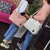 男側背包 旅行包女手提包正韓短途出差簡約行李包便攜拎包