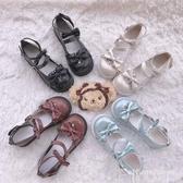 日系鞋【果泡甜心】原創洛麗塔軟妹圓頭可愛lolita鬆糕鞋原宿日系女鞋 非凡小鋪