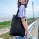 手提包 女士單肩包大容量斜背手拎袋子百搭軟皮手提包韓版休閒托特包 【618特惠】