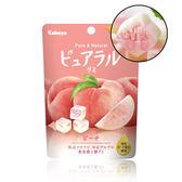 日本 kabaya 卡巴 蜜桃味夾心軟糖 45g ◆86小舖 ◆