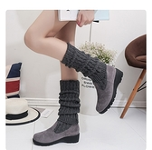 長靴 過膝靴高筒靴新款秋冬彈力靴女士兩穿瘦瘦靴時尚長款單靴子潮 風尚